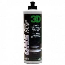 3D ONE HYBRID COMPOUND&POLISH 237ML
