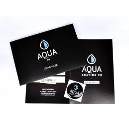 AQUA Coating Certyfikat