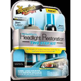 Meguiar's Perfect Clarity 2-step Headlight Kit