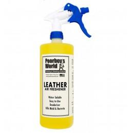 Poorboy's World Air Freschener Leather 946ml