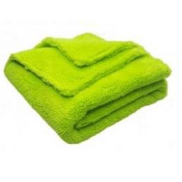 Mikrofibra Cosmetic4Car PLUSH FINISHER green Bezszwowa 800gsm