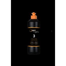 Honey Combination Finishing Compound 3 - wykończeniowa pasta polerska do twardych lakierów, baza wodna 500ml