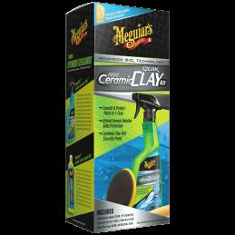 Meguiar's Hybrid Ceramic Quik Clay Kit - zestaw do glinkowania