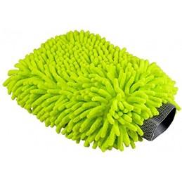 Cosmetic4car Car Wash Mitt LIME - rękawica mikrofibrowa do mycia