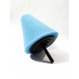 Evoxa Sleeker Stożek polerski duży – gąbka na trzpieniu Niebieski