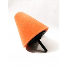 Evoxa Sleeker Stożek polerski duży – gąbka na trzpieniu Pomarańczowy