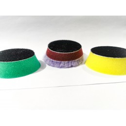 Evoxa Sleeker zestaw gąbek polerskich 3-pack 65x30mm