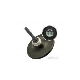 "Flexipads tarcza mocująca 75mm (3"") Quick Lock Type P Holder HARD + 6mm Spindle"