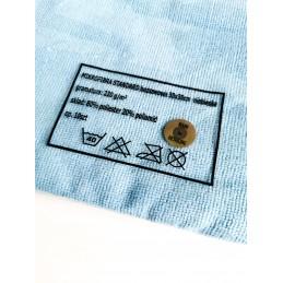Cosmetic4car bezszwowa mikrofibra Standard Edgeless Premium NIEBIESKA 220gsm 30x30cm Opakowanie (10sztuk)