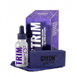 Gyeon Q2 Trim Kit 30ml Powłoka do zabezpieczenia tworzyw sztucznych, zestaw