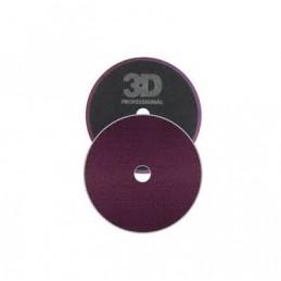 3D Car Care Dark Purple Cutting Pad 140mm - mocno ścierny pad polerski